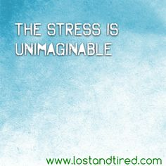 """""""The stress is unimaginable""""   The stress of today and Gavin's missing meds is killing me     http://www.lostandtired.com/2014/03/14/the-stress-is-unimaginable/  #Autism #Family #SPD #SpecialNeedsParenting"""