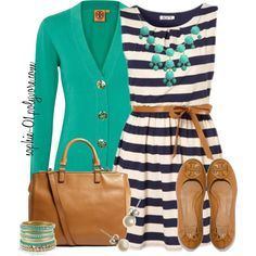 """Wearing a Summer Dress in the #Fall!""  Great look!"