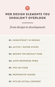 Here are a few common web design elements that designers neglect to include  for their web developer.