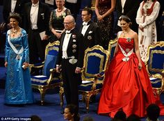 Succession: King Carl XVI Gustaf and Queen Silvia will be succeeded by Crown Princess Victoria (right)
