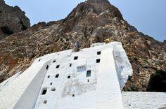 Monastery of Hozoviotissa, impressive view Greece Islands, Greece Travel, More Photos, Greek, Dreams, Outdoor Decor, Greece Vacation, Greece, Greek Islands