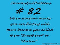 country girl problem # 82