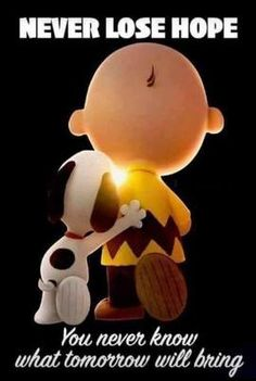 Never lose hope Snoopy Images, Snoopy Pictures, Charlie Brown Quotes, Charlie Brown And Snoopy, Peanuts Quotes, Snoopy Quotes, Snoopy Love, Snoopy And Woodstock, Baby Snoopy