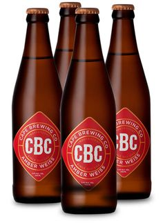 CBC AMBER WEISS #Craftbeer #CapeBrewingCo Beer Packaging, Brewing Co, Package Design, Hot Sauce Bottles, Craft Beer, Liquor, Amber, Clock, African