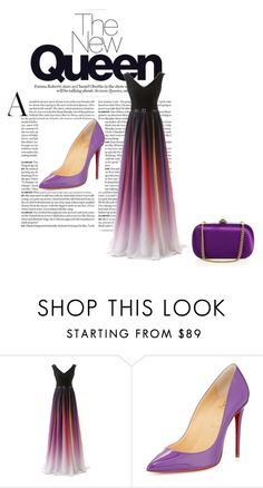 """""""Untitled #60"""" by naida-trumic ❤ liked on Polyvore featuring Christian Louboutin, Gucci, women's clothing, women, female, woman, misses and juniors"""