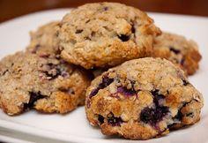 Chapeaux de muffins bleuets-gingembre | Doumdoum se régale!