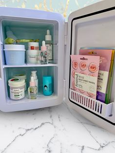 This Mini skincare fridge by Cooluli is perfect to keep skincare cool. It helps depuff the skin, soothes irritated skin, promotes lymphatic drainage, plumps skin and more! Perfect for any makeup or sk Beauty Care, Beauty Skin, Skin Structure, Bath Body Works, Face Skin Care, Tips Belleza, Flawless Skin, Flawless Makeup, Skin Makeup