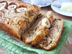 cooking ala mel: Zucchini Banana Rum Bran Bread