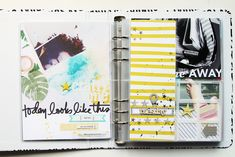 I am proud and happy to announce that I finally caught up on my Week in the Life 2015 project ! Project Life 6x8, Project Life Layouts, Mini Albums, Class Projects, The Life, Life Inspiration, Mini Books, Scrapbooks, Photo Book