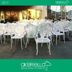 #bahçemobilyası @bahçemobilyaları Beyaz renkli dış mekanlar için tavus kuşu modeli alüminyum döküm sandalyeler bahçe mobilyası
