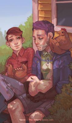I adore chicken man to bits Stardew Valley Fanart, Im Weak, Cool Art, Awesome Art, Fan Art, Man, Videogames, Gaming, Fandoms