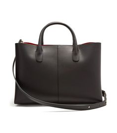 Mansur Gavriel Red-Lined Folded Leather Bag Work Wardrobe, Capsule Wardrobe, Best Travel Clothes, Citizens Of Humanity Liya, Oversized Button Down Shirt, Jimmy Choo Romy, Black Ankle Boots, Who What Wear, Smooth Leather