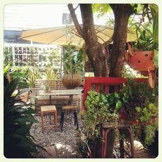a lovely cafe at Korat city,Thailand