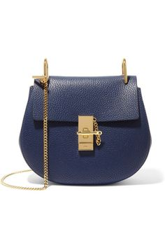 CHLOÉ | Drew small textured-leather shoulder bag