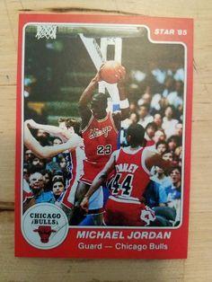 53c886cda89 1985 star michael jordan rookie card 101 unknown authenticity see  description  MichaelJordan  sportscards Jordan