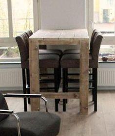 Betere De 23 beste afbeeldingen van hoge tafels | Hoge tafel, Tafels, Bar GV-36