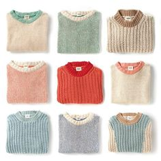Spring Vibes in Spanish Cotton ♻️ at babaa. Knitting For Kids, Sweater Weather, Pulls, Mantel, Knitwear, Knitting Patterns, Knit Crochet, Kids Fashion, Style Inspiration
