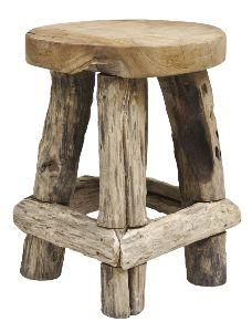 Wood stool - love this! Barn Wood, Rustic Wood, Rustic Decor, Rustic Log Furniture, Wood Furniture, Wood Projects, Woodworking Projects, Woodworking Bench, Wooden Stools