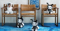 Lucky Boy Sunday - incredible soft toys, rugs & blankets for the nursery - Babyology