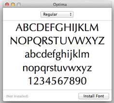 Mac Basics: Font Book. Been using this for years. Looking for any new tips.