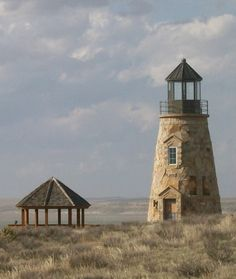 The Dunes Lighthouse, Lake McConaughy, Nebraska…