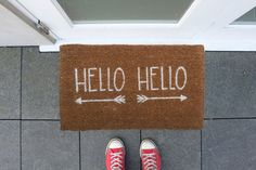 Hello Hello doormat