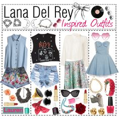 Lana Del Rey Inspired Outfits
