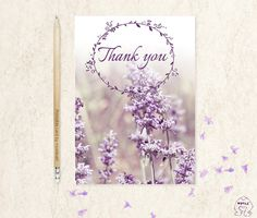 Thank you card printableSpring Celebrationsthank you by MokileArt