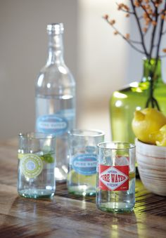 Keuken :: #Libelle :: accessoires Set Pure Waters - House Doctor