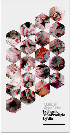 Electronic / 3D poster (3Dglasses) — marindsgn