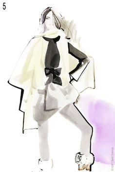 David Downton pour HM : Tendances Rentree 2011