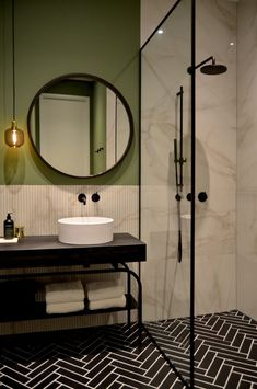 DIY bathroom decor and suggestions on a budget. Ideas for organization, storage, decorating, and renovations. Diy Bathroom, Modern Bathroom, Small Bathroom, Master Bathroom, Bathroom Storage, Bathroom Ideas, Master Master, Bathroom Mirrors, Bathroom Cabinets