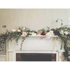 #flowers #fireplace @amy osaba