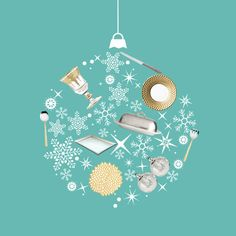 """Careful, the holidays will sneak up on you! Luckily we have this handy dandy """"Holiday Entertaining Checklist"""" just for the occasion."""