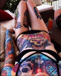 Sleeves and back pieces are some of the most popular kinds of large scale…
