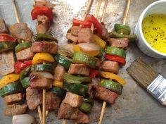 Receita de espetinho de carne para forno convencional
