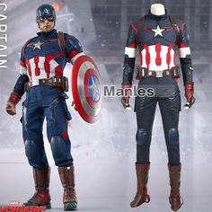 halloween costume sexy pirate Picture - More Detailed Picture about Movie Avengers Age of Ultron Steve Rogers Costume Superhero Captain America Cosplay Costume Halloween Clothing Adult Men Picture in Movie & TV costumes from Lardoo Cosplay Costume High Quality Halloween Costumes, Superhero Halloween Costumes, Halloween Outfits, Cool Costumes, Cosplay Costumes, Goth Costume, Cheap Halloween, Halloween 2016, Captain America Cosplay