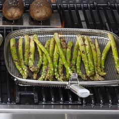 I love the Steel Grill Griddle on Williams-Sonoma.com