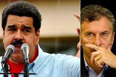 ¡NO SE MIDE! Maduro sobre Macri: Es un ladrón, farsante y bandido que ganó las elecciones en Argentina manipulando - http://wp.me/p7GFvM-BRA