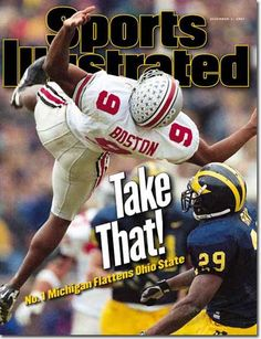 Michigan Wolverines Football | Marcus Ray, Football, Michigan Wolverines - 12.01.97 - SI Vault