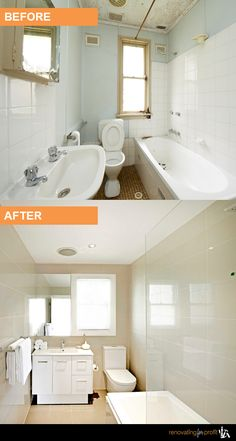 #Bathroom #Renovation See more exciting projects at: www.renovatingforprofit.com.au