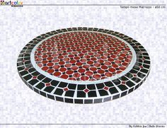 Workshop Artcolor mosaics: mosaic table