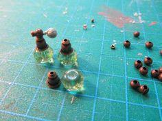 How to make a dollhouse Spray Flakon