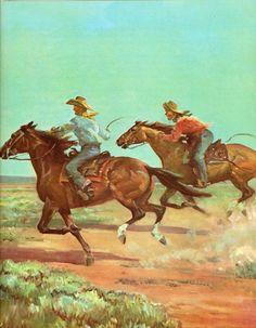Vintage Print by Artist Wesley Dennis