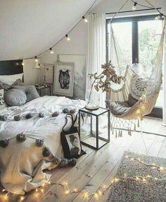 Image de bedroom, room, and decoration