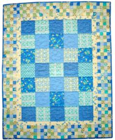 Baby Quilt Patterns | Free Baby Quilt Pattern - Newborn Snuggler | DailyCraft - Your Daily ...