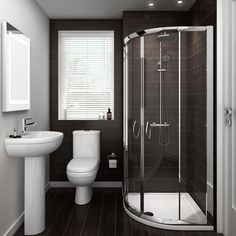 Our sleek Ivo en-suite will give you a setting that's both stylish and practical.