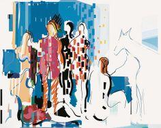 As raças - © Nadir Afonso.