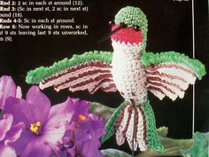 snail amigurumi crochet free pattern with video tutorial beautiful delicate hummingbird