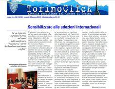Torino. Sensibilizzare alle adozioni internazionali.